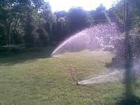 Консервация системы полива газонов
