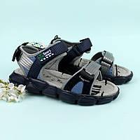 Спортивные сандалии на липучках на мальчика Том.м размер 34,35,36,37, фото 1