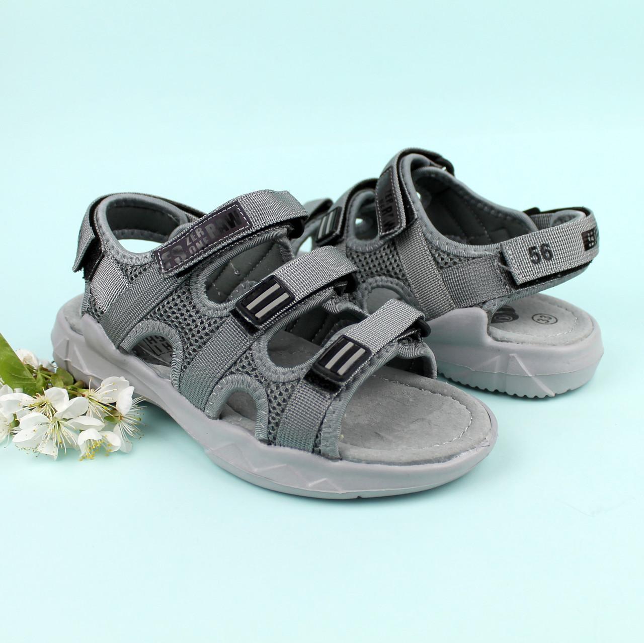 Спортивные сандалии на липучках на мальчика бренд Tomm размер 34,36