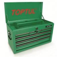 Ящик для инструмента  6 секций  660(L)x307(W)x378(H)mm  TBAA0601 (Toptul, Тайвань)