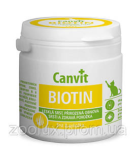 Canvit biotin для кошек и котов 100 таблеток
