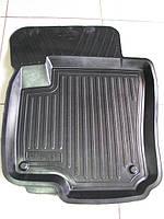Коврики автомобильные для ZAZ (ЗАЗ), резиновые с бортами