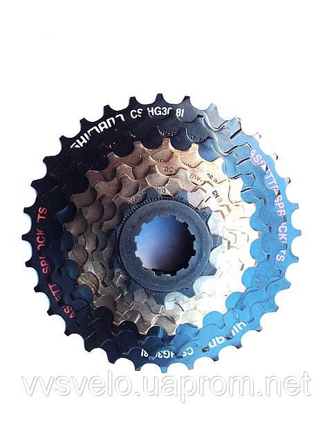 КАССЕТА SHIMANO CS-HG30 11-32 8 для велосипедов