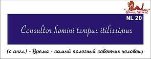 трафарет надпись для биотату NL20