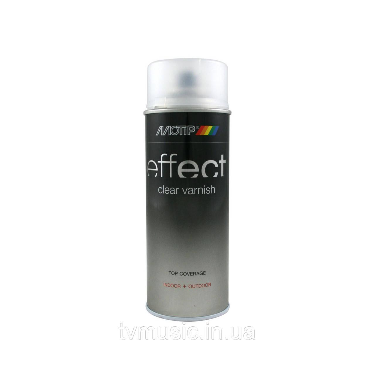 Лак акриловый полуматовый Motip Deco Effect 400 мл