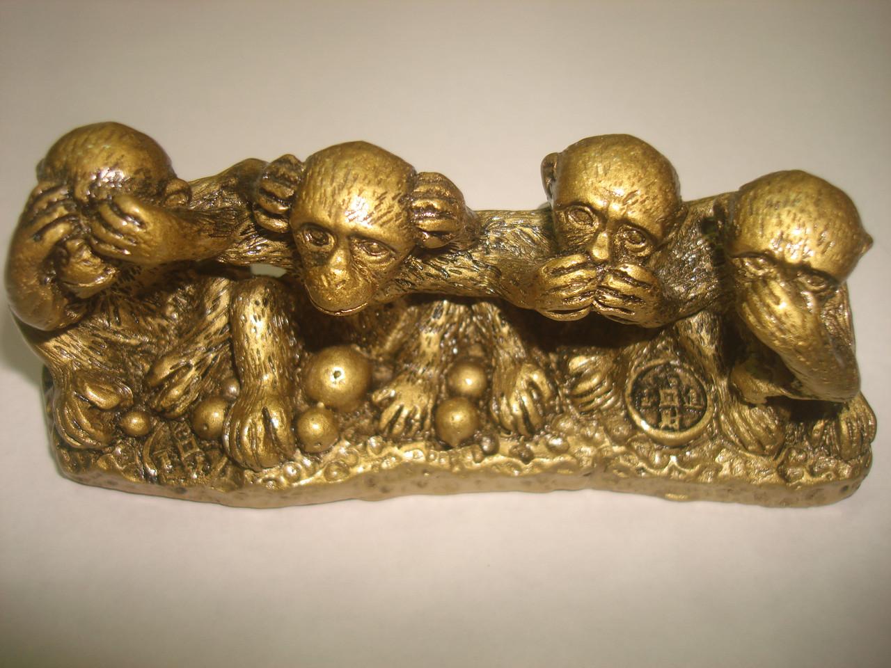 Четыре обезьяны