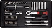 """Набор инструмента в ложементе 1/4"""" , 48 предметов AmPro T45013"""