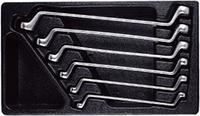 Набор ключей накидных 8-19 мм, 6 предметов AmPro T40693
