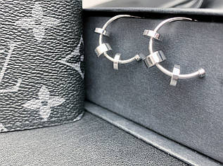 Серьги болты-кольца