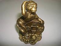 Обезьяна с монетой, фото 1