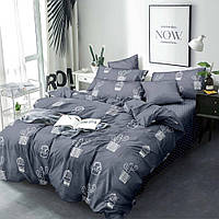 Комплект постельного белья ранфорс Кактус Marcel 20-115 Двуспальный евро комплект