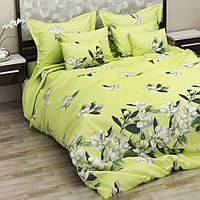 Комплект постельного белья ранфорс Цветы Marcel 20-108 Полуторный комплект