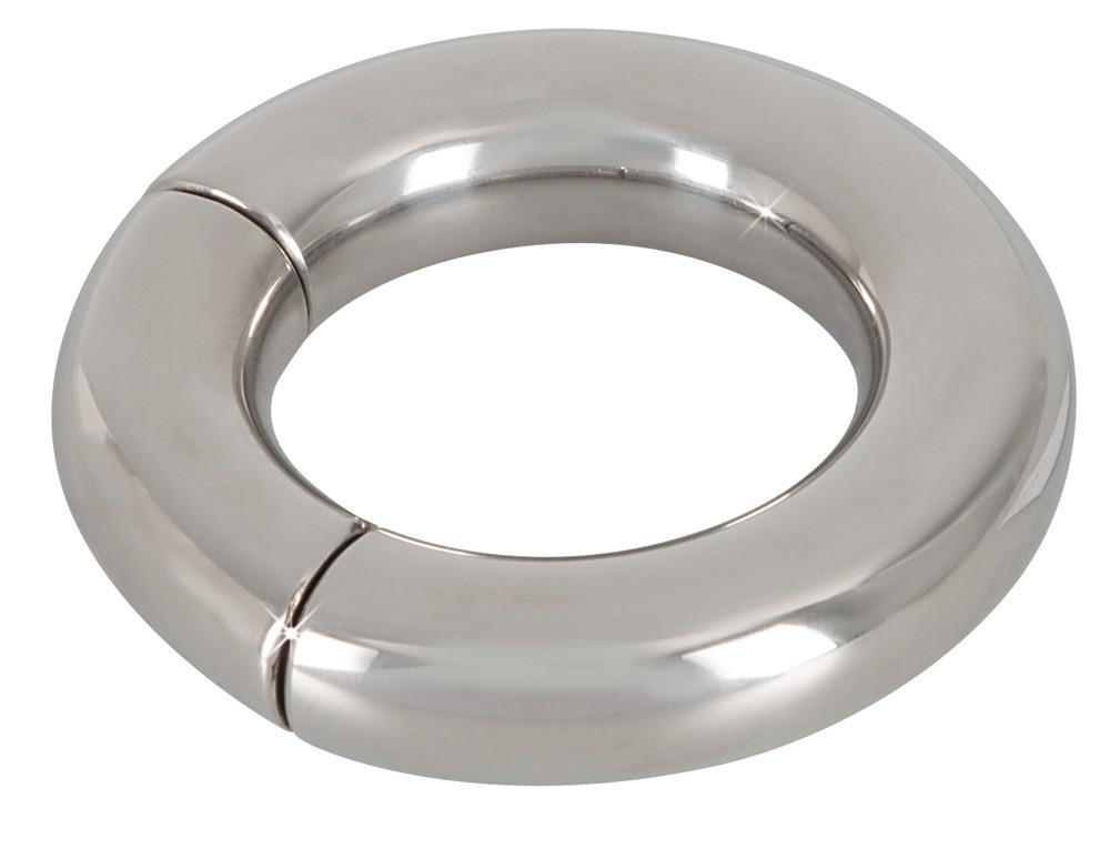 Эрекционное кольцо на мошонку Magnetic Ball Stretcher от Orion