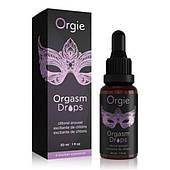 Возбуждающие капли для клитора «ORGASM DROPS» Orgie