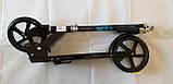Самокат двухколесный складной Scale Sports 460 черный, фото 3