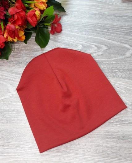 Шапка Classic красная  46-50см (576419)
