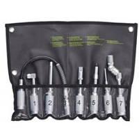 Набор аксессуаров для шприц-масленки 7 единиц K-410 G.I.KRAFT