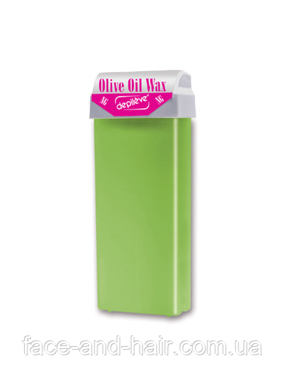 Оливковый воск в кассете с роликовой головкой Depileve NG OLIVE ROLL100 мл