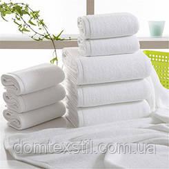 Полотенце белое махровое 100% хлопок для лица.Турция