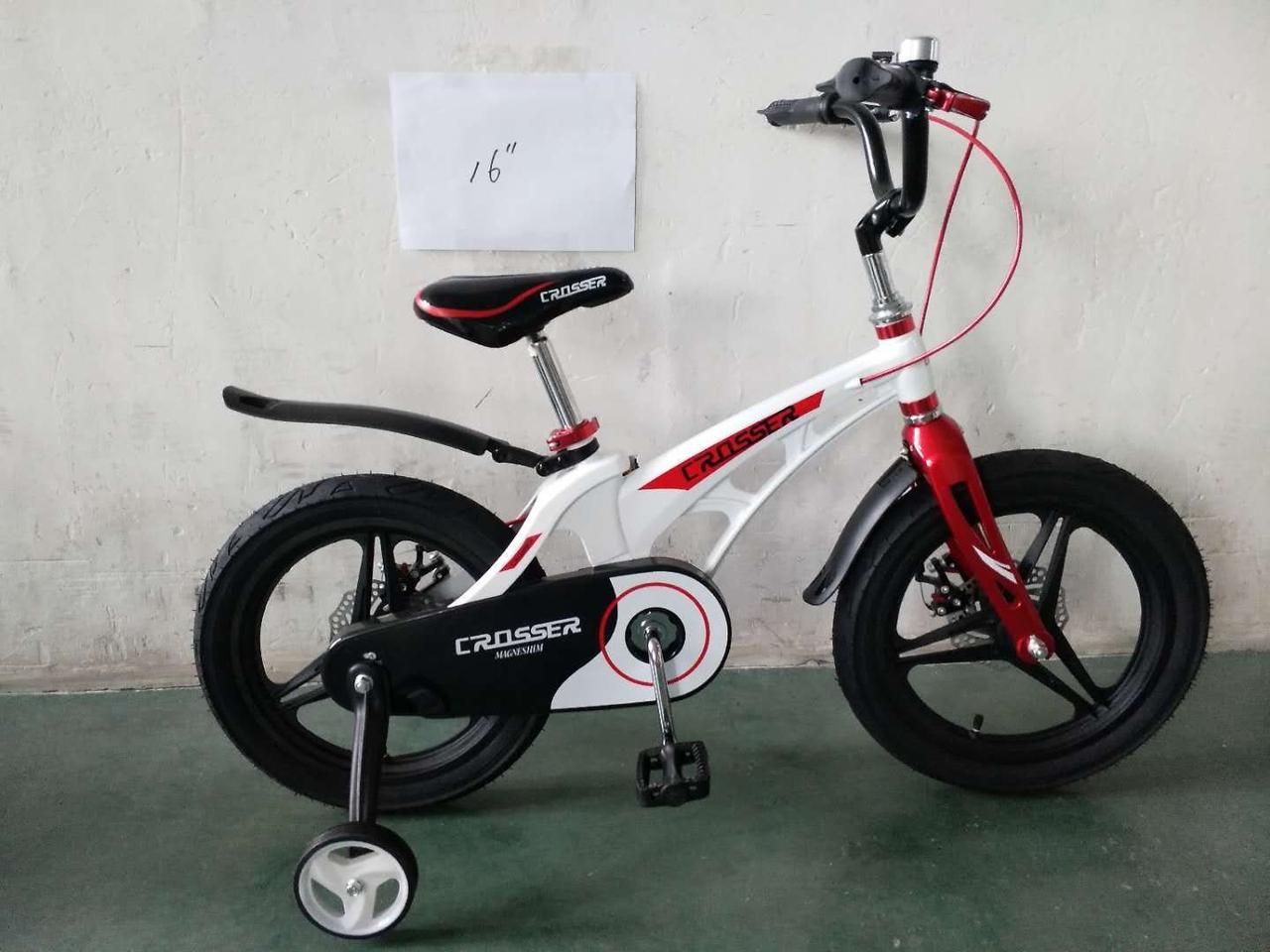 Детский двухколесный велосипед 16 дюймов Magnesium Premіum магниевый