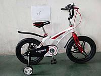 Детский двухколесный велосипед 16 дюймов Magnesium Premіum магниевый, фото 1