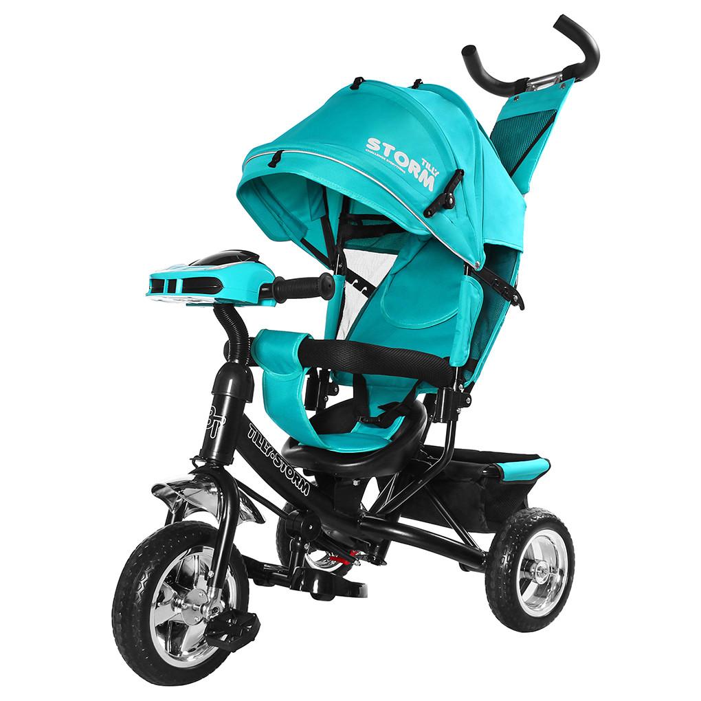 Детский трёхколёсный велосипед Storm, «Tilly» (T-349), цвет Turquoise (бирюзовый)