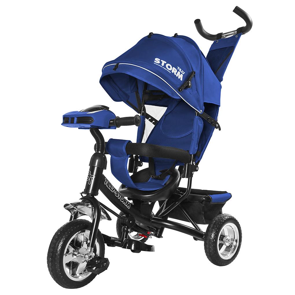 Детский трёхколёсный велосипед Storm, «Tilly» (T-349), цвет Blue (синий)