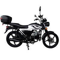 Мотоцикл 8 л.с. чёрный Forte ALFA NEW FT125-K9A (78316)
