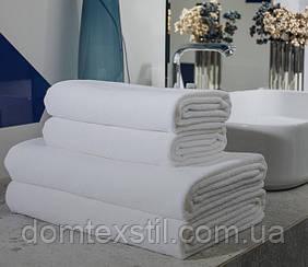 Полотенце белое махровое 100% хлопок для бани.Турция