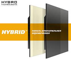Установка керамических отопительных панелей HYBRID
