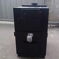 Котёл пиролизный твердотопливный Экомер 80-100 кВт, фото 1