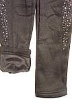 Лосины на девочку теплые(плюш)черные трикотажные , фото 7