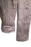 Лосины на девочку теплые(плюш)черные трикотажные , фото 6