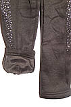 Лосины на девочку теплые(плюш)черные трикотажные , фото 8