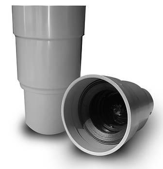 Капельная воронка 32 л/мин, с сухим затвором, обратный клапан 50-40 мм  MAGdrain