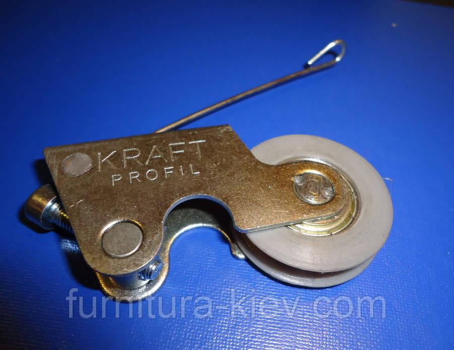 Ролики для шкаф купе K R A F T  , фото 1