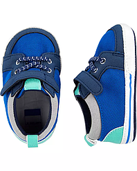 Пинетки Carters Картерс, первая обувь малыша, обувь для новорожденных 6-9M, 9-12M - 12,3 см