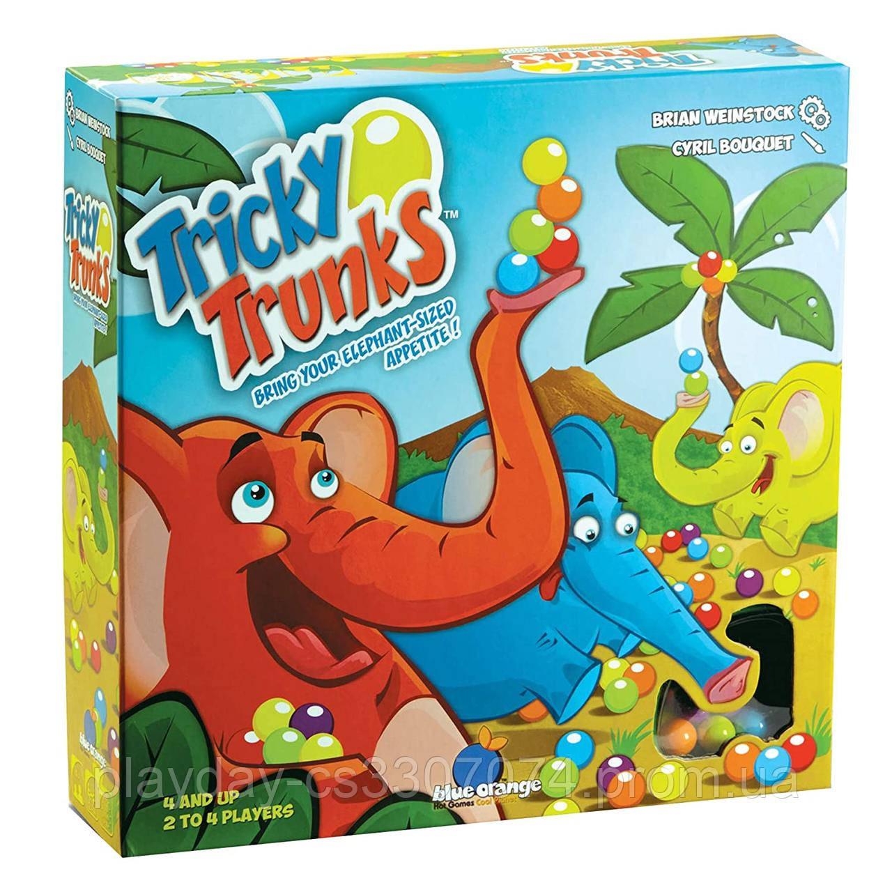 Настольная игра Слоноловкость Tricky Trunks от Blue Orange games