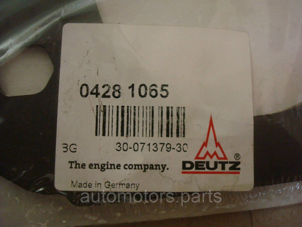 Прокладка с немет.материалa Deutz 04281065