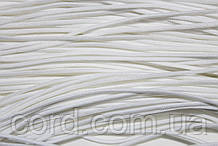 Шнур круглый 1мм 100м белый