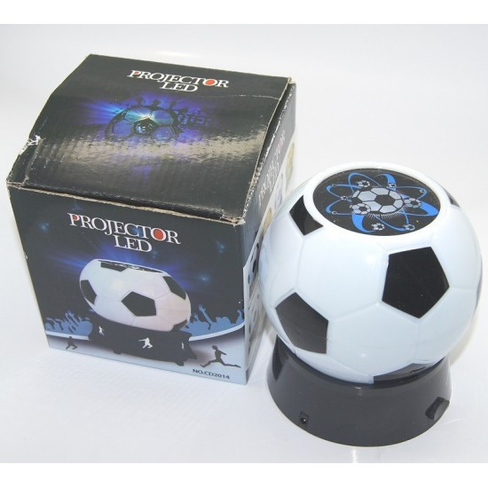 Лампа для проектора футбол на 3 батарейки или от USB шнура (11,5*12,2)см.