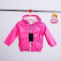 Детская легкая весенняя куртка ветровка для девочки