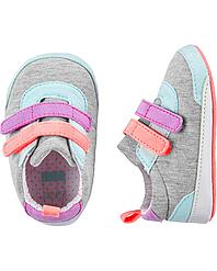 Пинетки Carters Картерс, первая обувь малыша, обувь для новорожденных 6-9M - 11 см,9-12M - 12,5 см