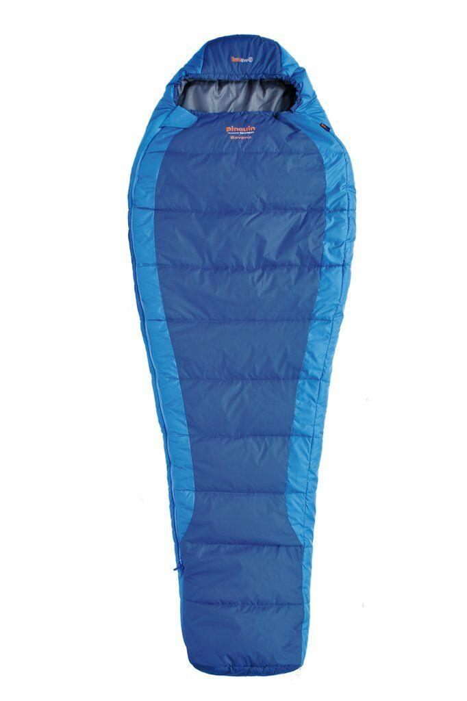 Спальний мішок Pinguin Savana 195 Blue Left Zip