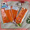 Слайсы лосося слабосоленые на подложке 300г