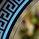 Зеркало круглое с подсветкой Versace Black 70см, фото 2