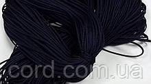 Шнур круглый 1мм 100м синий