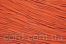 Шнур круглый 2мм 100м оранжевый