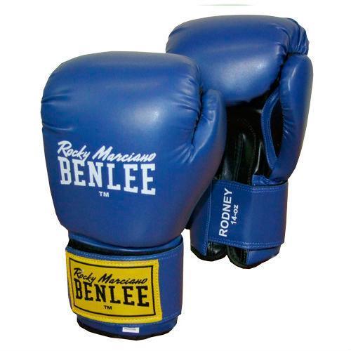 Боксерские перчатки BENLEE Rodney (194007/3618) Синий/Черный