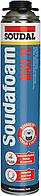 Пена монтажная зимняя пистолетная с увеличенным выходом Soudal Soudafoam Maxi 70 870 мл